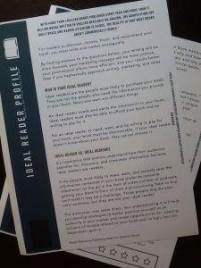 Ideal Reader Profile Worksheet