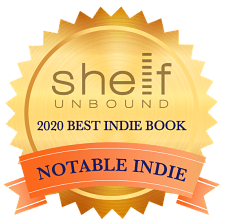 SHelf Unbound 2020 Best Indie Book Notable Indie Award logo for Linda K. Olson's memoir