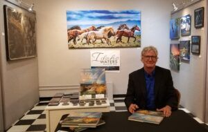 author and photographer David R. Day at art gallery book signing